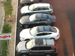 Brått ble det ledig en parkeringsplass..