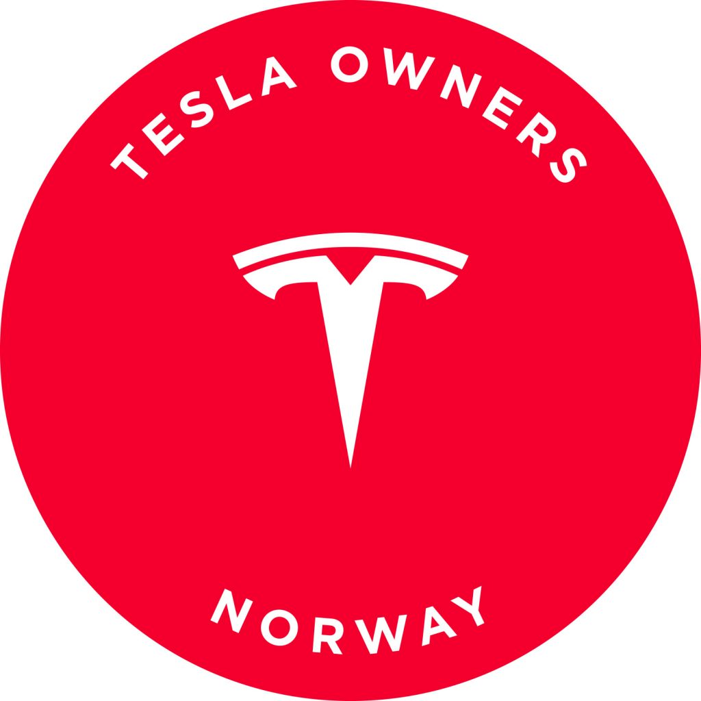 Tesla Owners Norway klubblogo